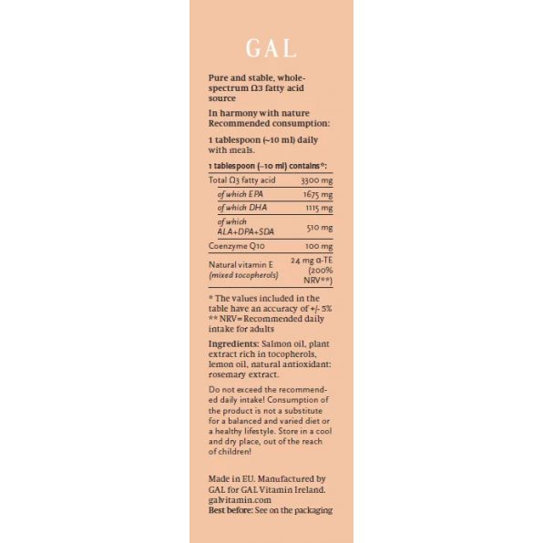GAL Q10 Salmon Oil